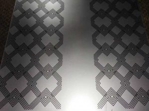 Stainless Steel Etched Sheets
